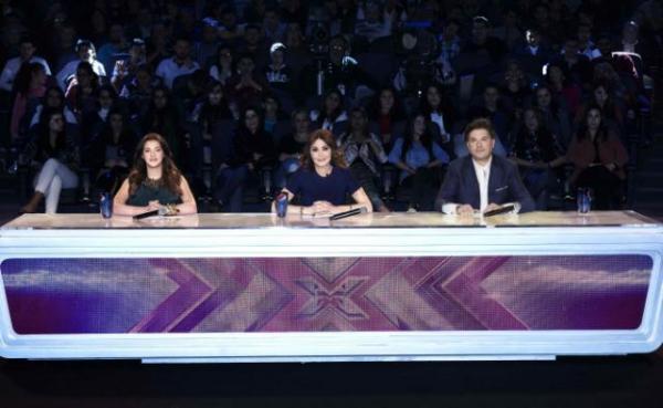 صورة لجنة تحكيم برنامج إكس فاكتور X Factor على قناة MBC