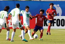 موعد وتوقيت مباراة العراق وكوريا