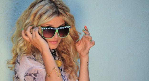 1450d70d6 بالصور نظارات شمس 2015 لإطلالة مفعمة بالأنوثة .. نظارات شمسية للبنات 2015