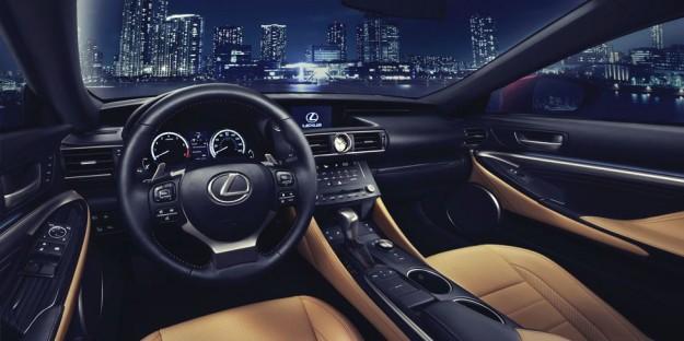 صور مواصفات سعر سيارة لكزس ار سى 2015 Lexus RC