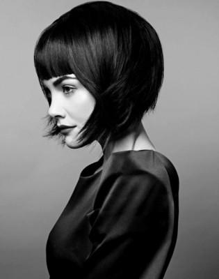 أحلى تسريحات للشعر القصير 2015 , أحدث صيحات قصات الشعر في 2015