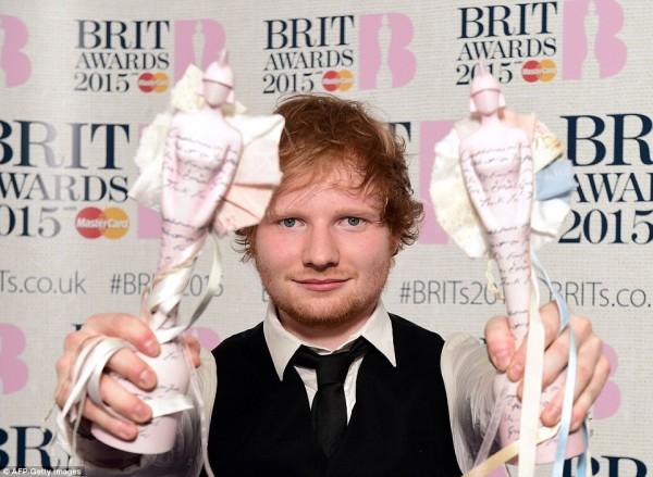 ����� ������ �������� �� ��� ����� ����� BRIT Awards 2015
