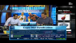ESPN Caribbean [Caribbean 901] & ESPN 2 [Syndication 902] @ Telstar 12 @ 15�W