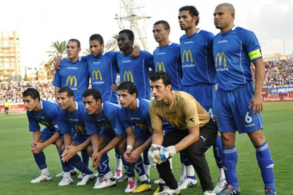موعد وتوقيت مشاهدة مباراة الأهلي الليبي وسموحة المصري مباشرة اليوم السبت 28-2-2015