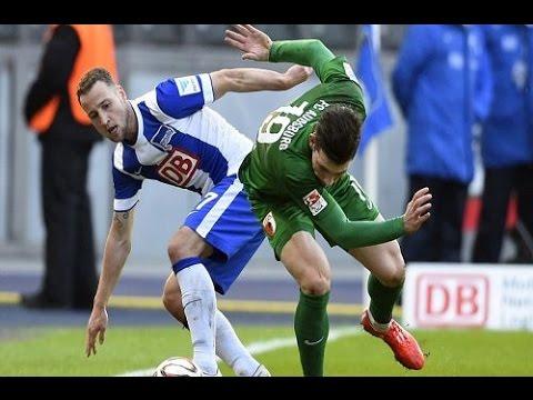 يوتيوب أهداف ملخص مباراة هيرتا برلين واوجسبورج اليوم السبت 28-2-2015