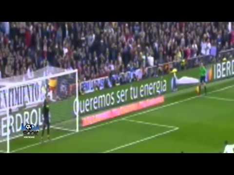 يوتيوب ملخص اهداف مباراة ريال مدريد وفياريال اليوم الاحد 1-3-2015