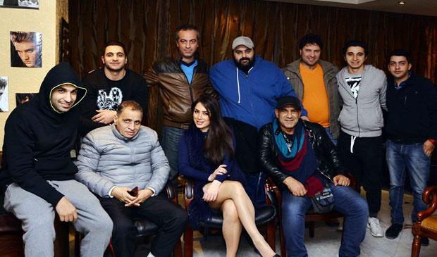 صور الراقصة اللبنانية إليسار بطلة فيلم عم الشباب والرياضة 2015