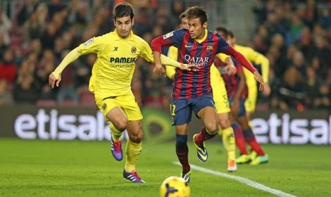 موعد وتوقيت مشاهدة مباراة برشلونة وفياريال مباشرة اليوم الأربعاء 4-3-2015