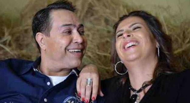 صور زوجة الفنان حكيم 2015 , صور حكيم مع زوجته الثانية 2015