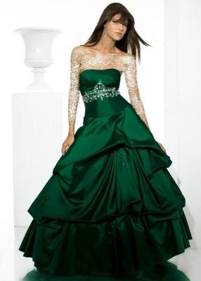صور أزياء وملابس باللون الاخضر موضة ربيع 2015 , صور فساتين ربيع باللون الأخضر 2016