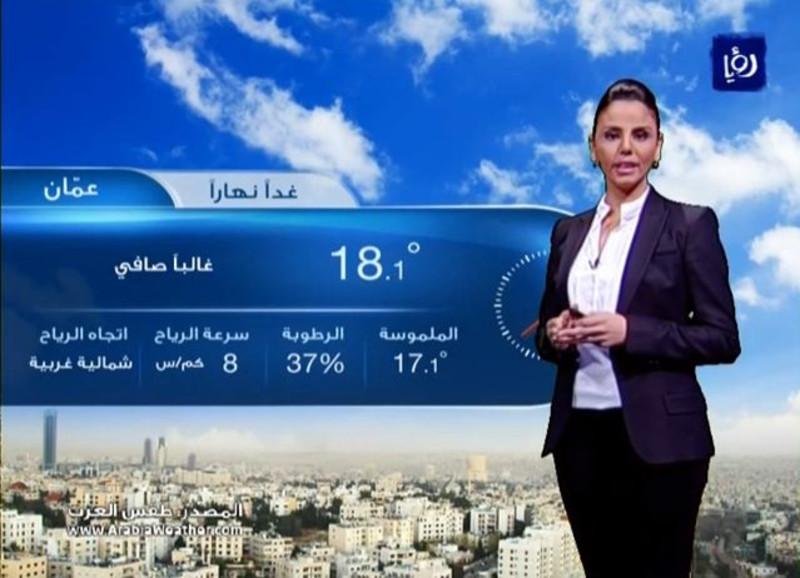 أخبار وحالة الطقس الاردن اليوم