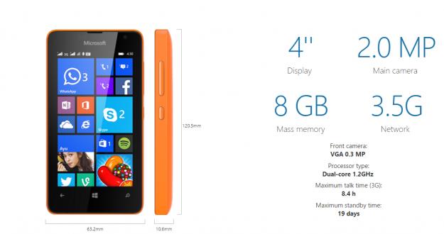 ��� ������� ��� ���� �����  Lumia 430 ������ 2015