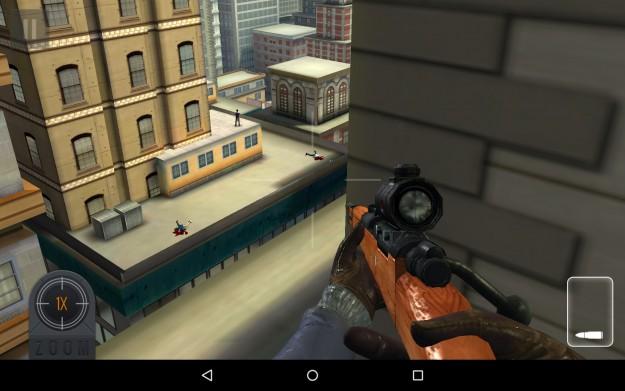 ����� �������� ���� Sniper 3D Assassin ������� 2015