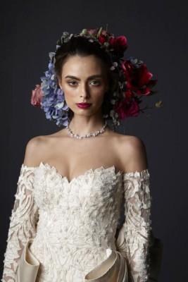 صور فساتين زفاف تصميم رامى العلى 2015 , أجمل فساتين زفاف 2016