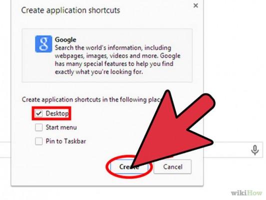 طريقة عمل اختصارات للمواقع لمستخدمي جوجل كروم 2015