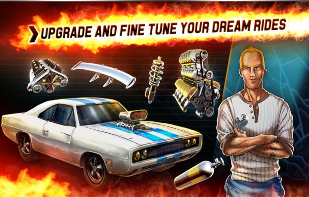 مزايا لعبة Hot Rod Racers الجديدة 2015