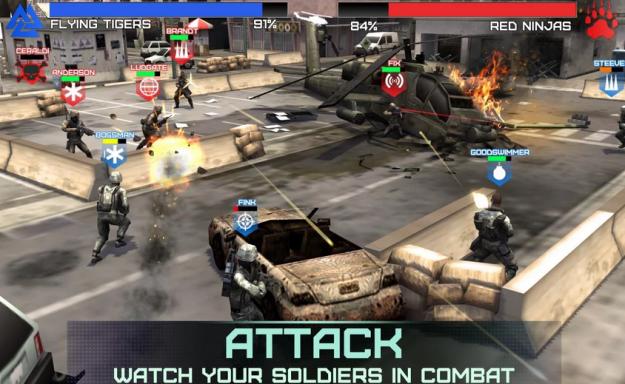 مزايا لعبة Rivals at War الجديدة 2015