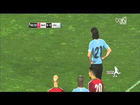 اهداف وملخص مباراة المغرب وأوروجواي اليوم السبت 28-3-2015 فيديو يوتيوب