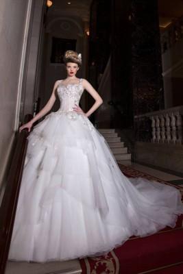 صور فساتين زفاف تصميم ميراى داغر موضة 2015 , تصميمات جديدة لأجمل فساتين زفاف 2016