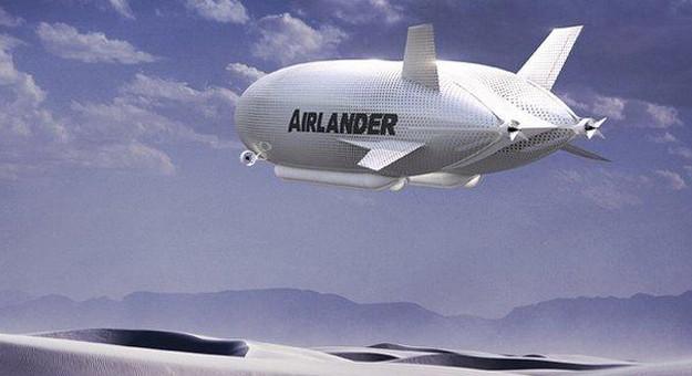بالصور شاهد أكبر طائرة في العالم 2015 Airlander 10