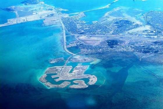 بالصور .. تعرف على أجمل 8 جزر صناعية فى العالم 2015
