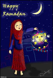 بوستات ومنشورات أدعية رمضانية مكتوبة