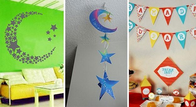 بالصور أفكار مبتكرة لزينة رمضان فى المنزل 2015/2016