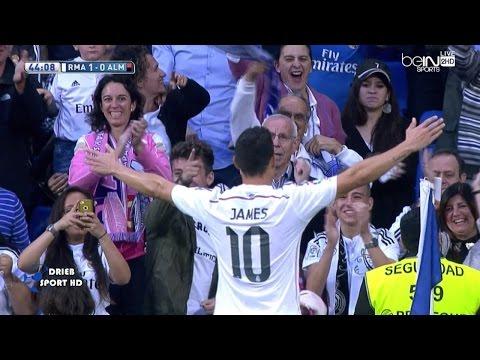 بالفيديو هدف خاميس رودريغيز الصاروخي في مباراة الميريا اليوم 29-4-2015