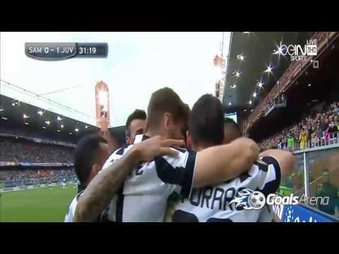 اهداف وملخص مباراة يوفنتوس وسامبدوريا اليوم السبت 2-5-2015 ...