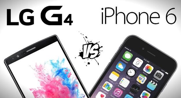 ������ ������ ��� ���� lg g4 � Iphone 6 plus