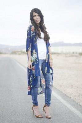 صور أزياء وملابس كيمونو للحوامل 2015 , أزياء الكيمونو اليابانى 2016