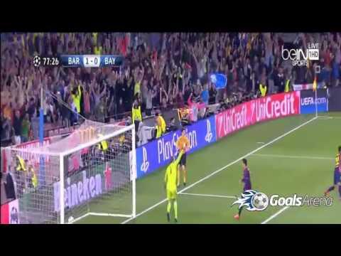 اهداف وملخص مباراة برشلونة وبايرن ميونخ اليوم الاربعاء 6-5-2015 فيديو يوتيوب