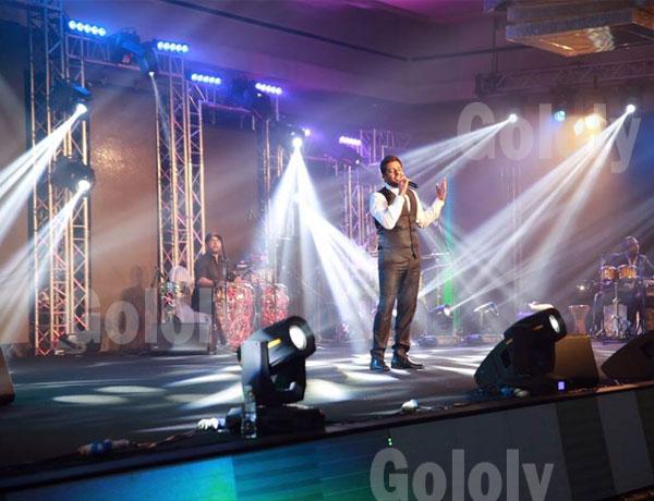 صور حفلة نانسي عجرم ومحمد حماقي في فندق الجميرا بالكويت 2015