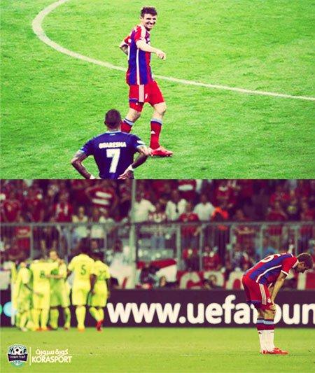 صور مضحكة على خسارة بايرن ميونخ من برشلونة في دورى أبطال أوروبا 2015