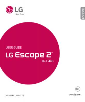 ��� �������� ���� ���� LG Escape 2 ������ 2015