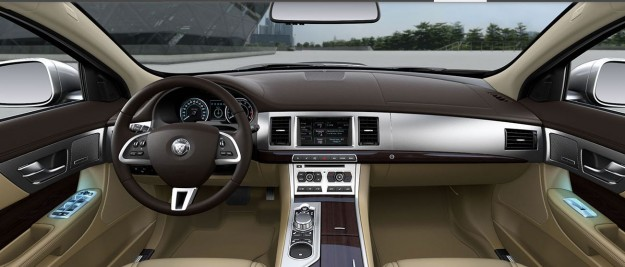 صور ومواصفات وسعر سيارة جاكوار Jaguar xf موديل 2015