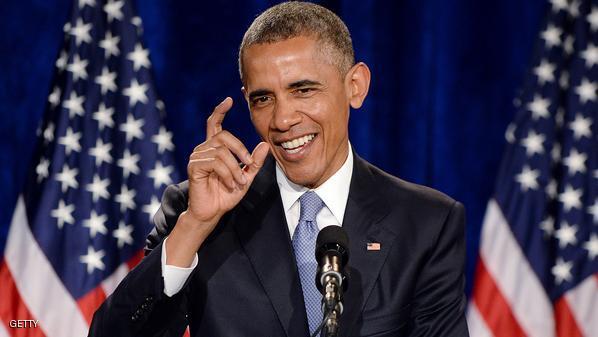 رسميا حساب الرئيس باراك أوباما على تويتر 2015