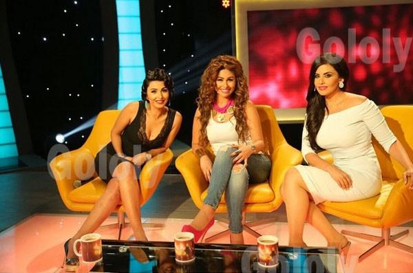 صور ميس حمدان ومي سليم ودانا حمدان في برنامج الحياة حلوة 2015 مع رزان مغربي