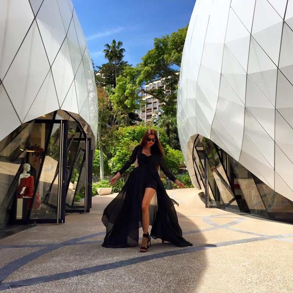 صور لاميتا فرنجية في مهرجان كان 2015