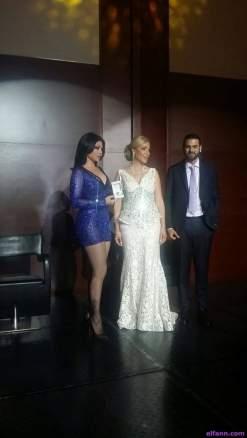 صور هيفاء وهبي في افتتاح صالون أدور في دبي 2015