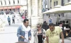 صور باميلا الكيك ومصطفى شعبان في كرواتيا 2015 , صور أبطال ونجوم مسلسل مولانا العاشق 2015