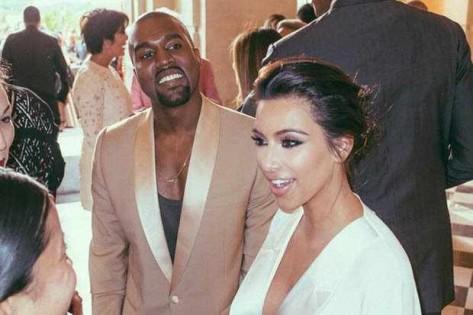 صور جديدة من حفل زفاف كيم كارداشيان جديدة 2015