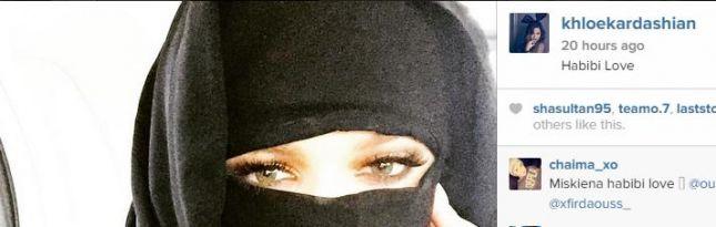 كلوي كردشيان بالحجاب 2015
