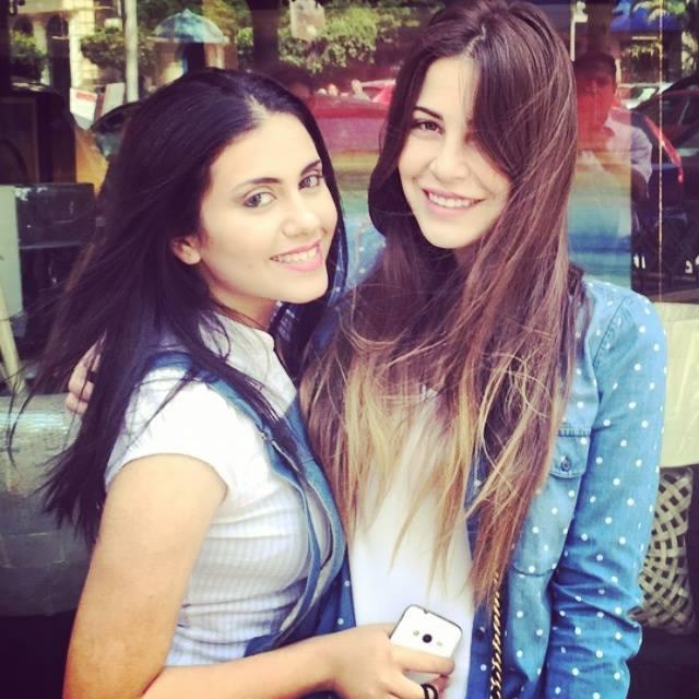 ابنة حسين فهمي وميرفت أمين