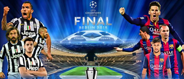 مجانا القنوات الناقلة لمباراة نهائي دوري أبطال أوروبا 2015 برشلونة Vs يوفنتوس