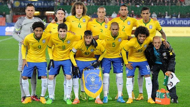 منتخب البرازيل كوبا أميركا 2015