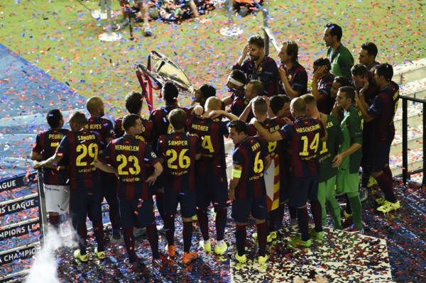 #ViscaBarca #UCLfinal #ChampionsLeagueFinal 2015