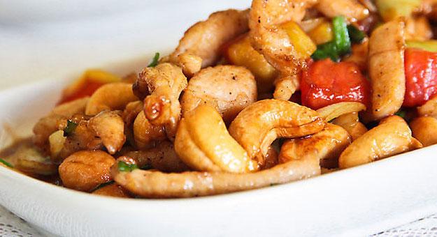 مقادير وطريقة عمل الدجاج الصينى بالكاجو 2015