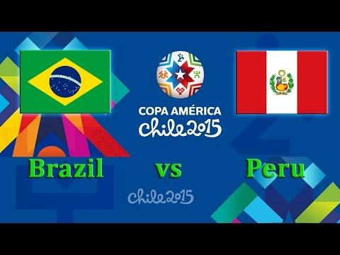 تشكيلة مباراة البرازيل وبيرو في كوبا أمريكا اليوم 15-6-2015
