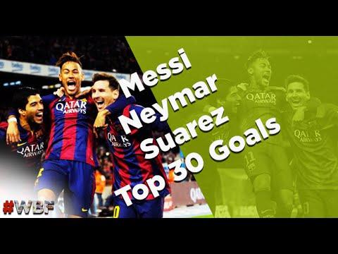 بالفيديو أجمل 30 هدف لثلاثي برشلونة المرعب msn جودة عالية 2015 hd